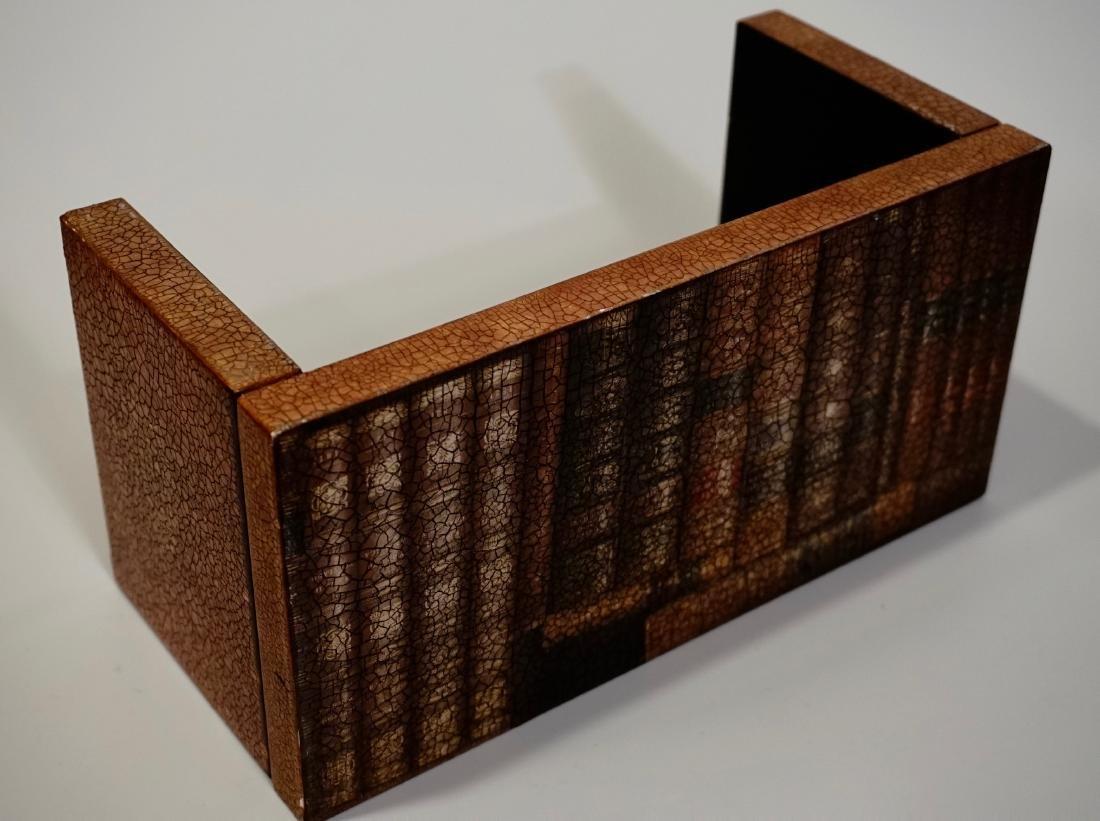 Trompe Alley Faux Book Shelf Hide Foldable Tray Lot of - 5