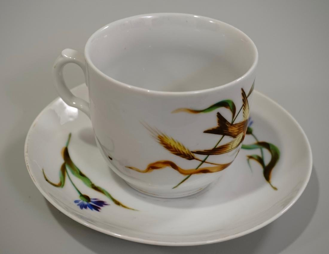 Continental Swallow Swift Tea Cup Saucer - 2