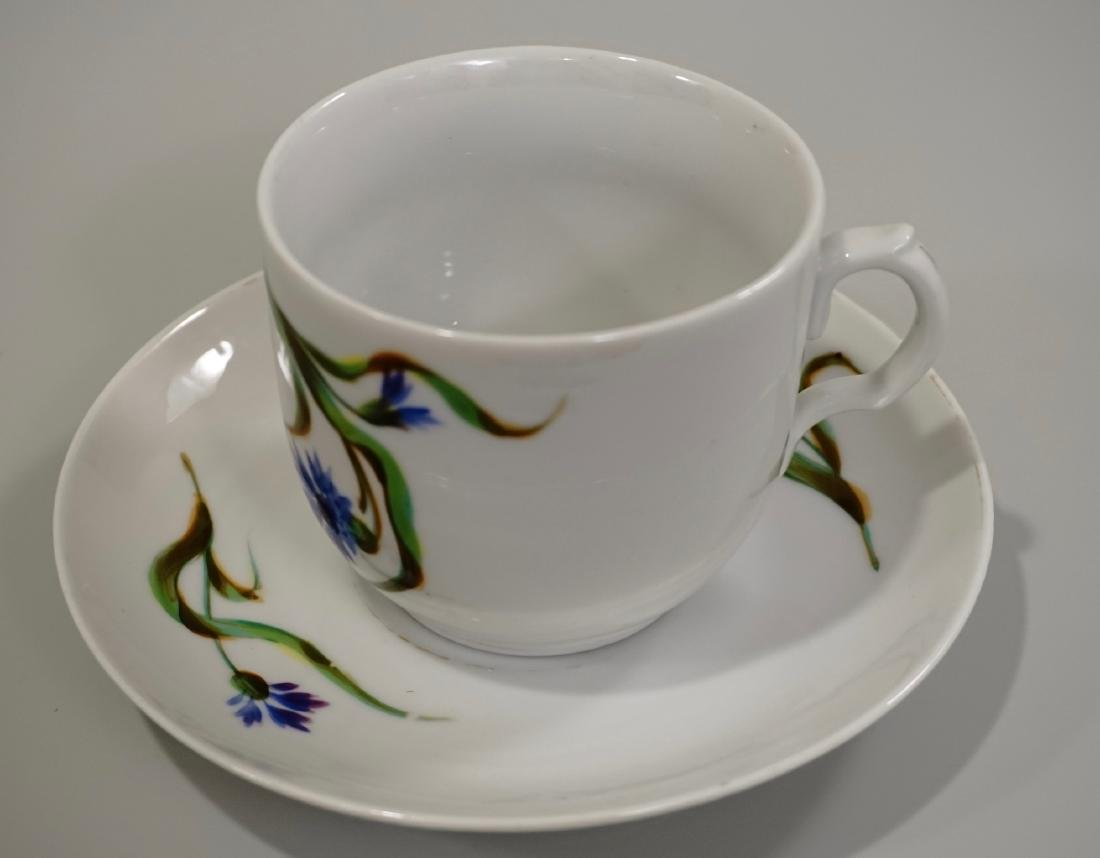 Continental Swallow Swift Tea Cup Saucer - 3