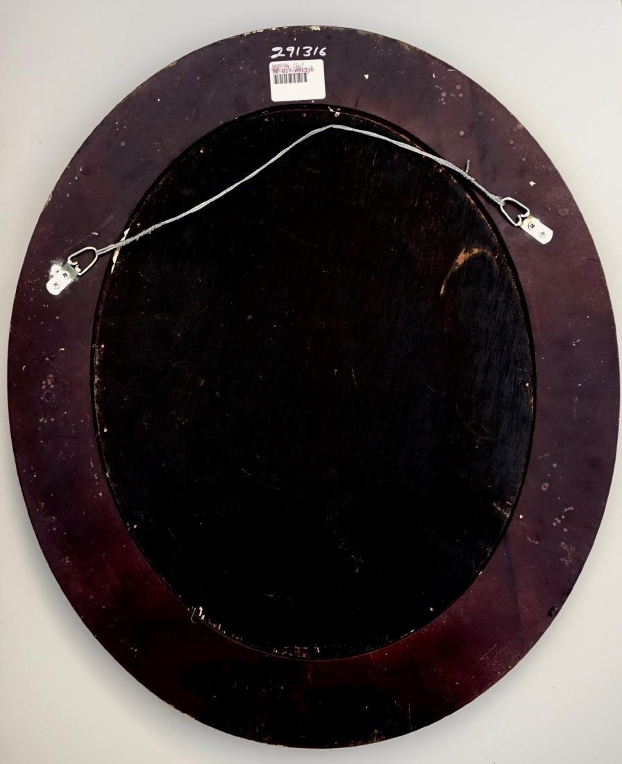 Still Life Fruits Oval Oil on Board Painting Framed - 6