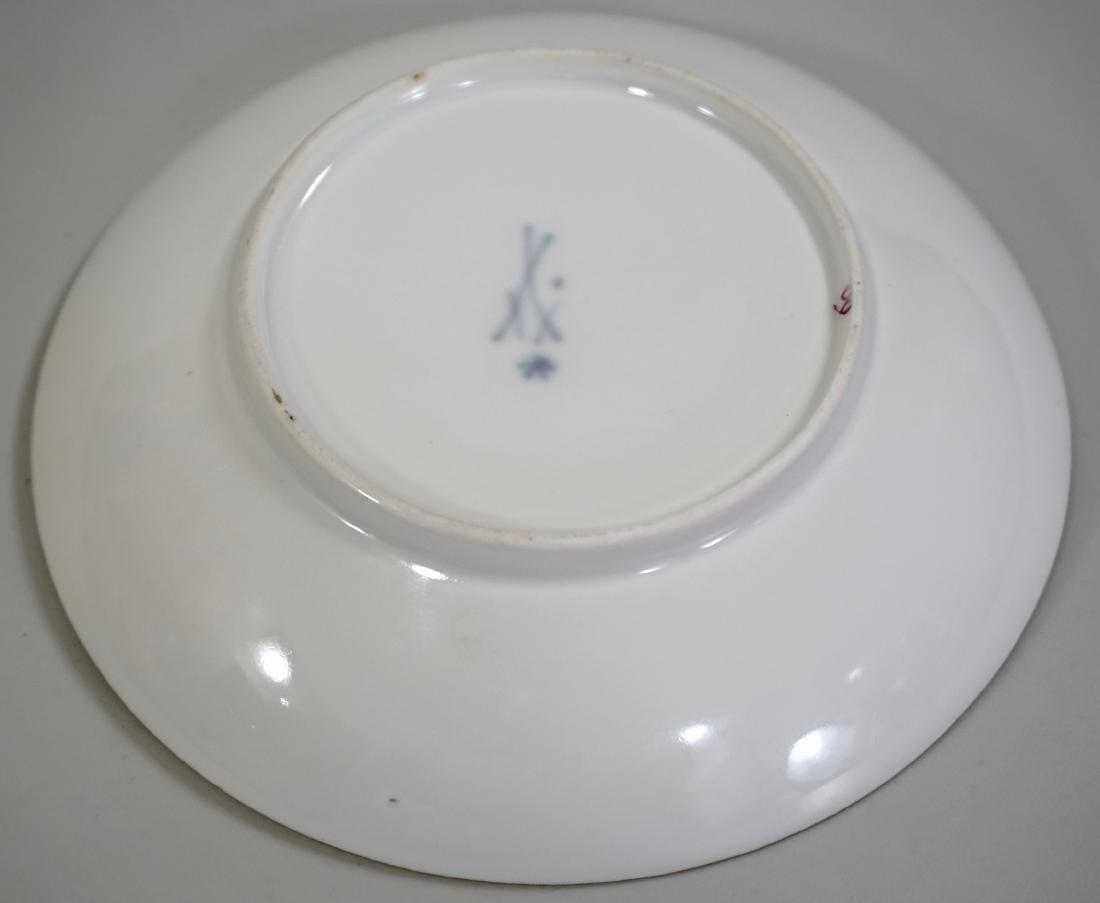 Meissen Porcelain Floral Encrusted Demitasse Cup - 5