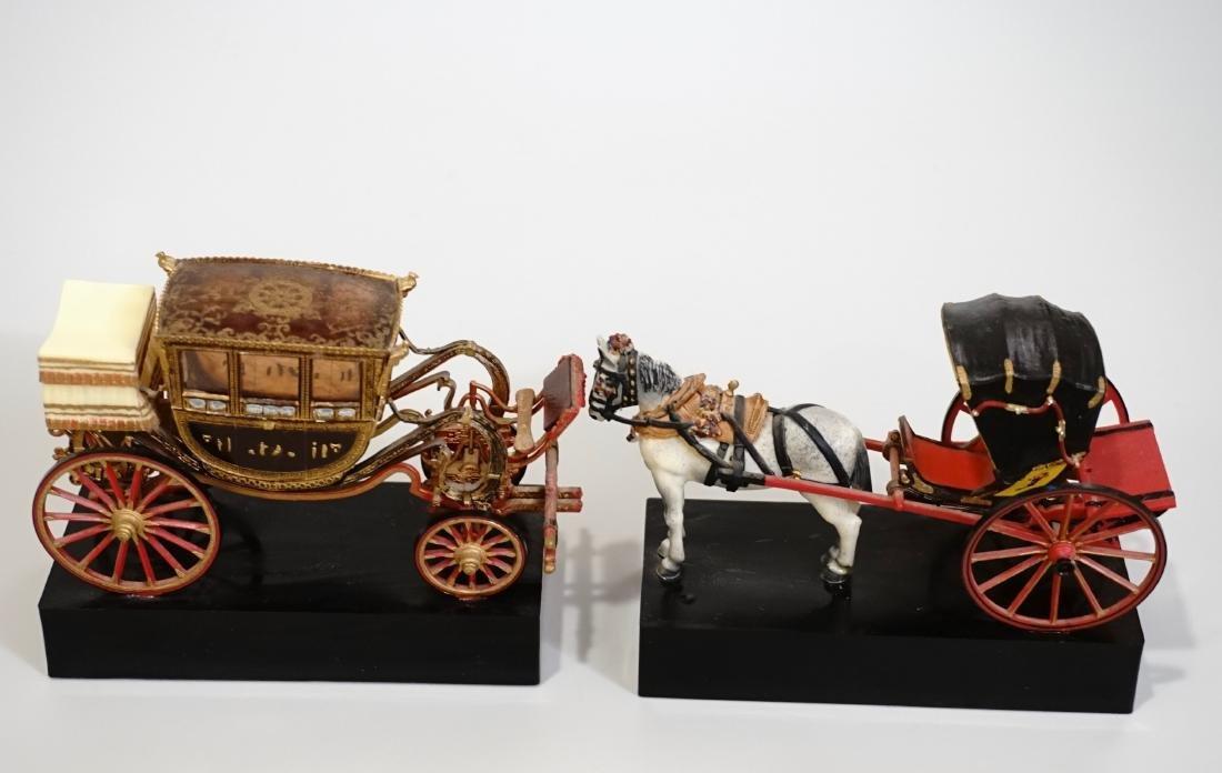 Vintage Carriage Precision Miniatures Artesania Museo
