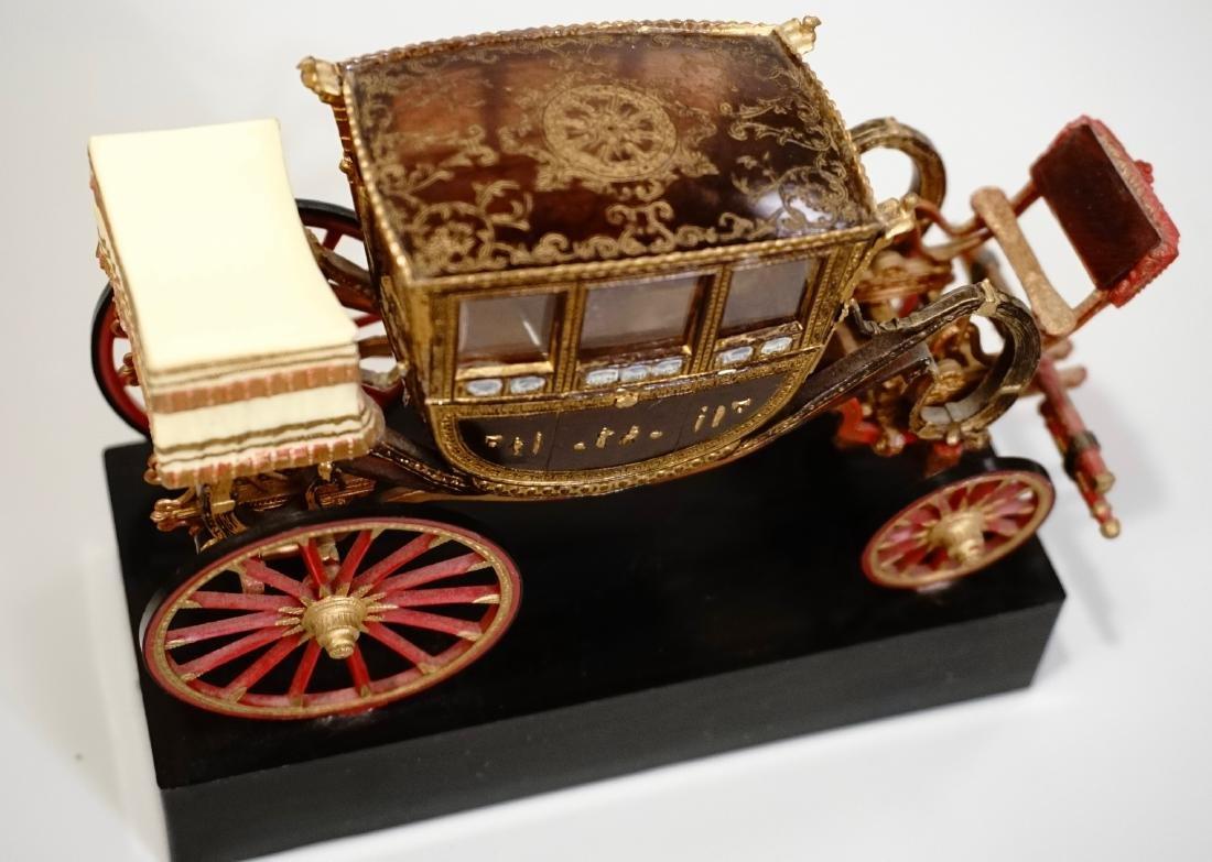 Vintage Carriage Precision Miniatures Artesania Museo - 3