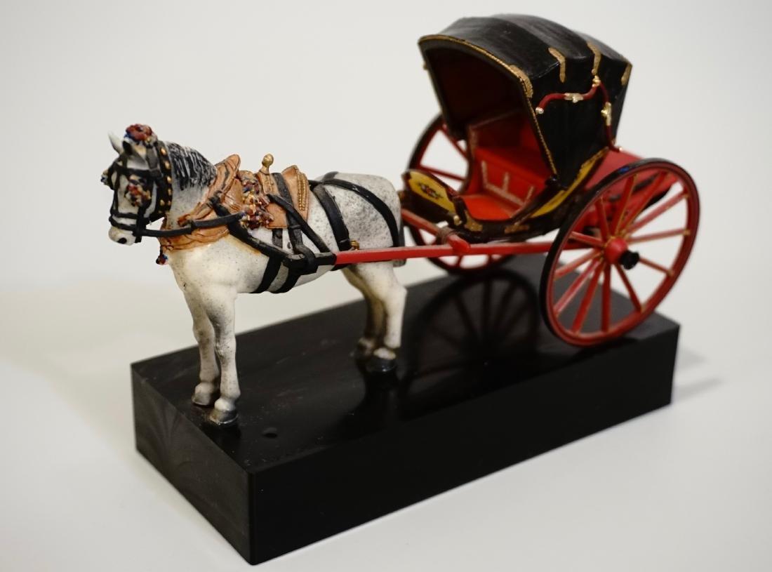 Vintage Carriage Precision Miniatures Artesania Museo - 5