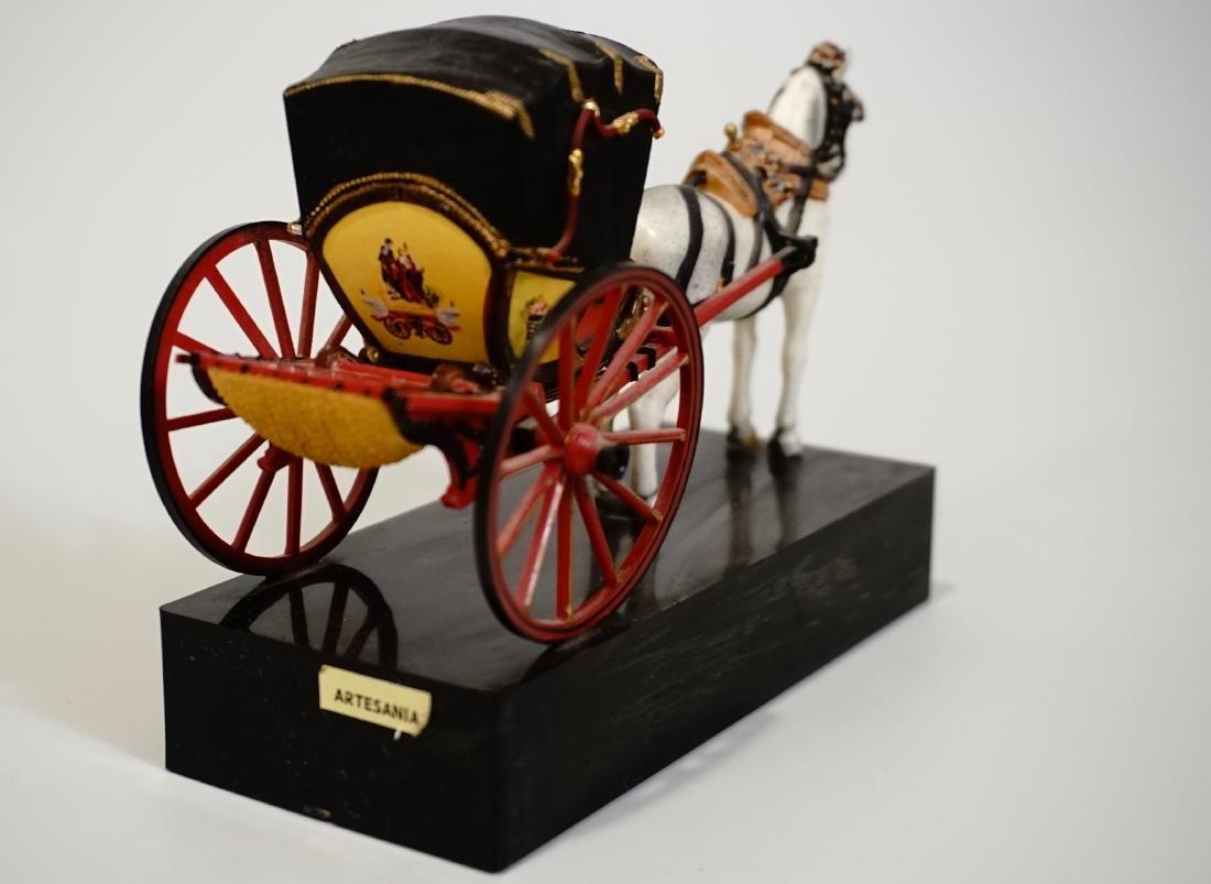 Vintage Carriage Precision Miniatures Artesania Museo - 6