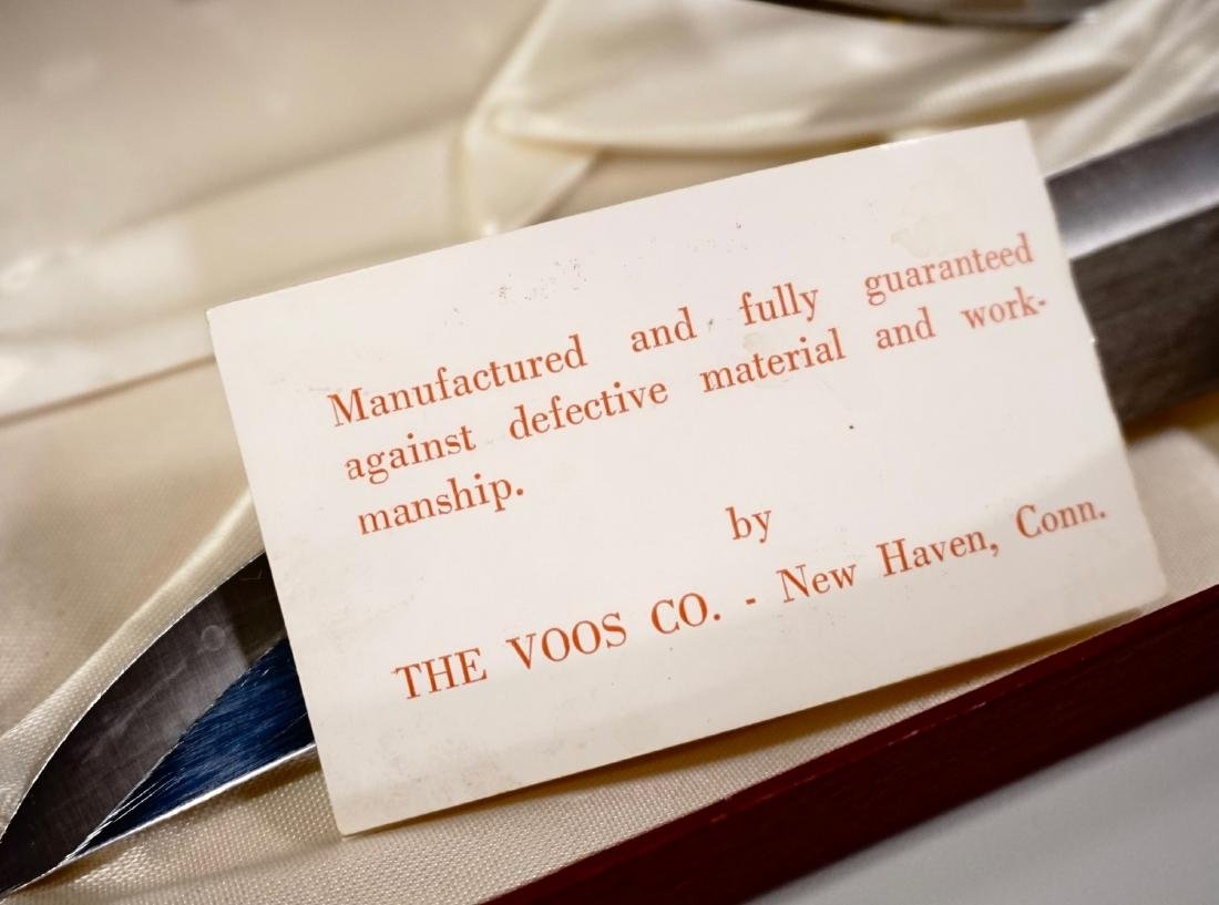 Antler Handle Carving Set Voos Co. USA - 4