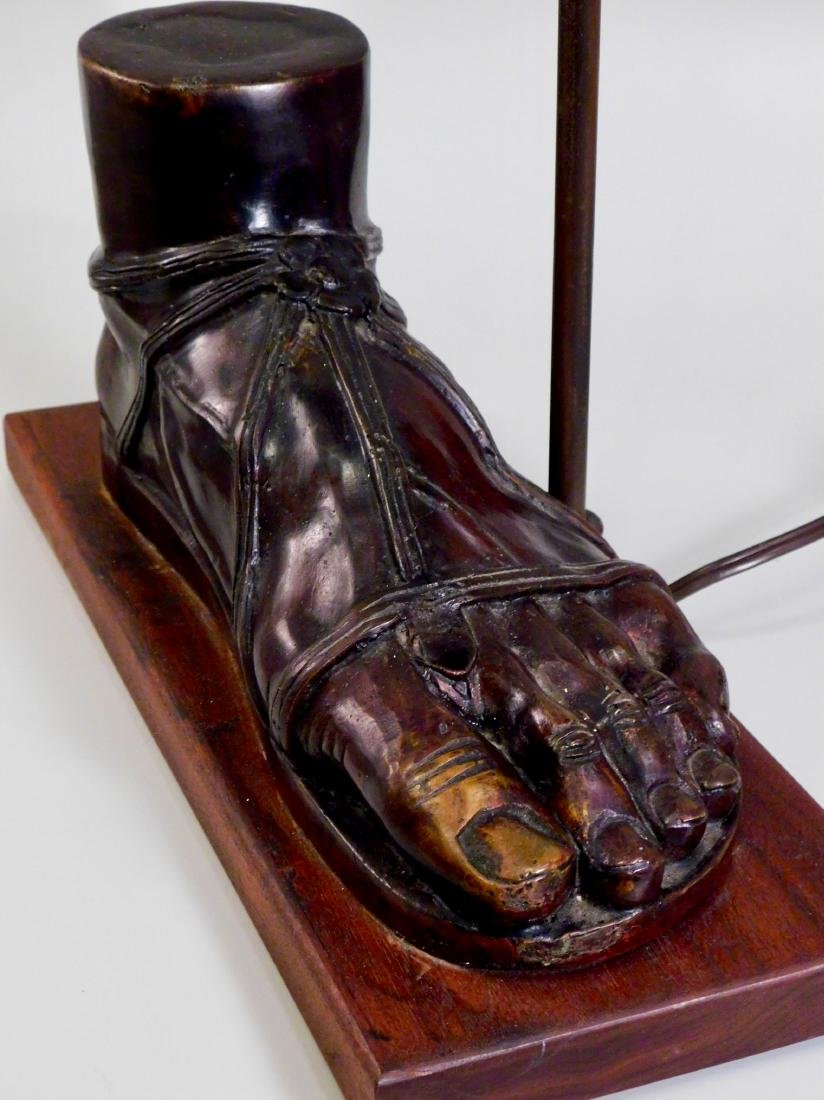 Italian Grand Tour Caliga Roman Sandal Foot Designer