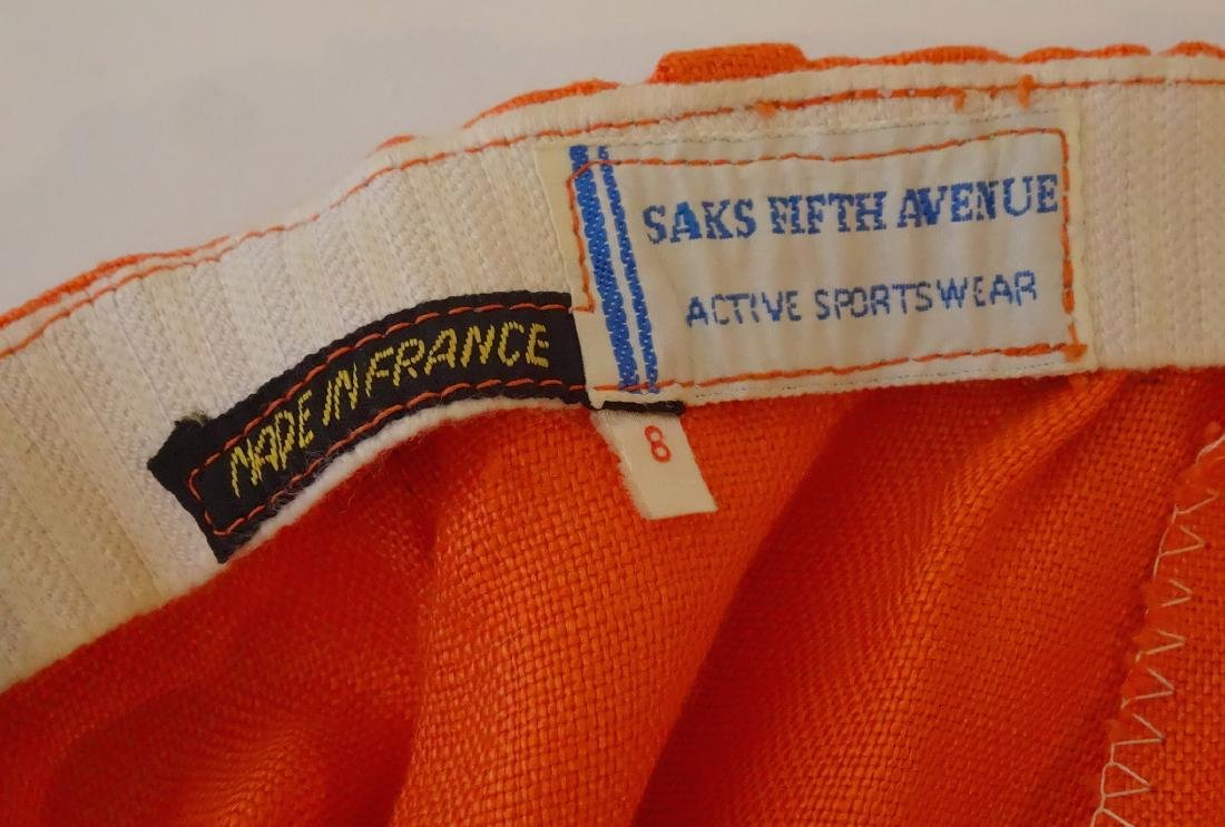 Vintage 60s Saks Fifth Ave French Pants Museum - 3