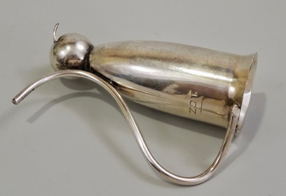 Napier Silver Plate Cat Jigger Mid Century Art Deco - 5