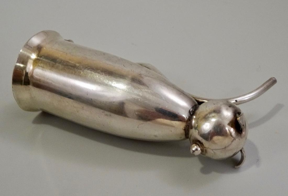 Napier Silver Plate Cat Jigger Mid Century Art Deco - 6