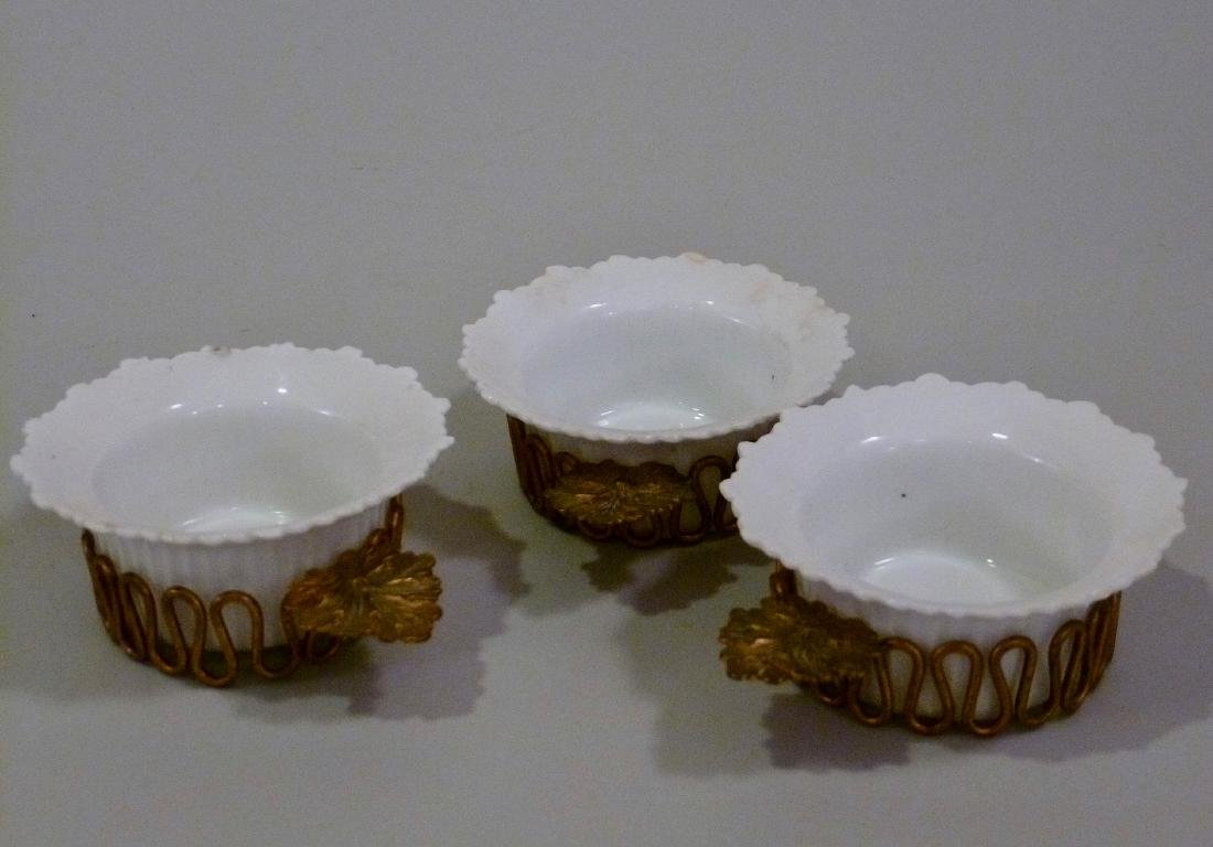 Mehun Depose Ramekin French Porcelain Custard Bowl