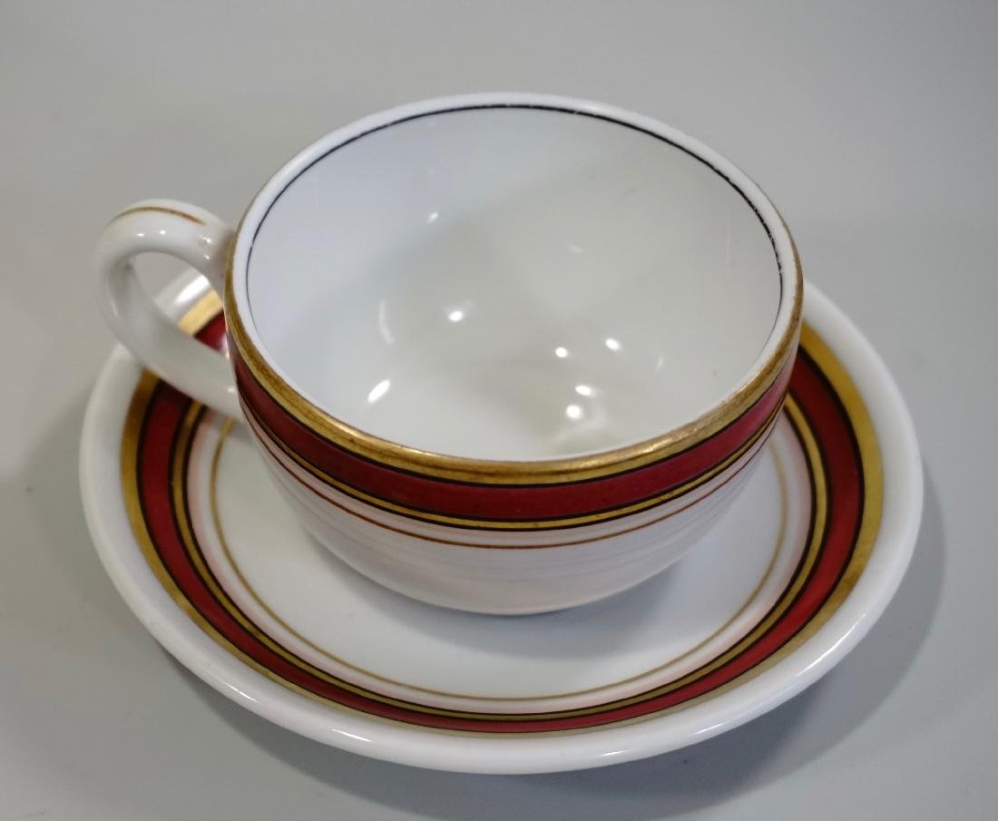 Schongau Venezia Fabric Decor Coffee Cup Saucer