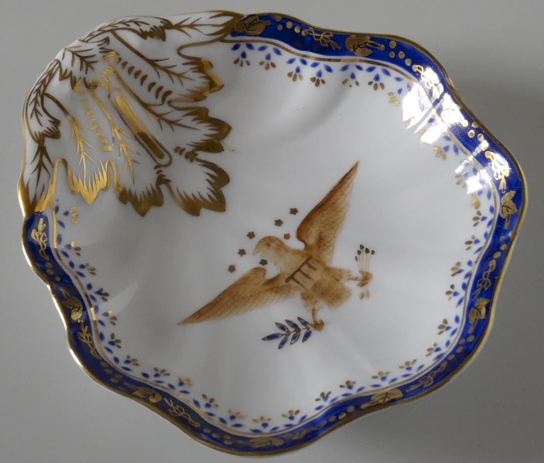Chinese Export American Eagle Hand Painted Porcelain