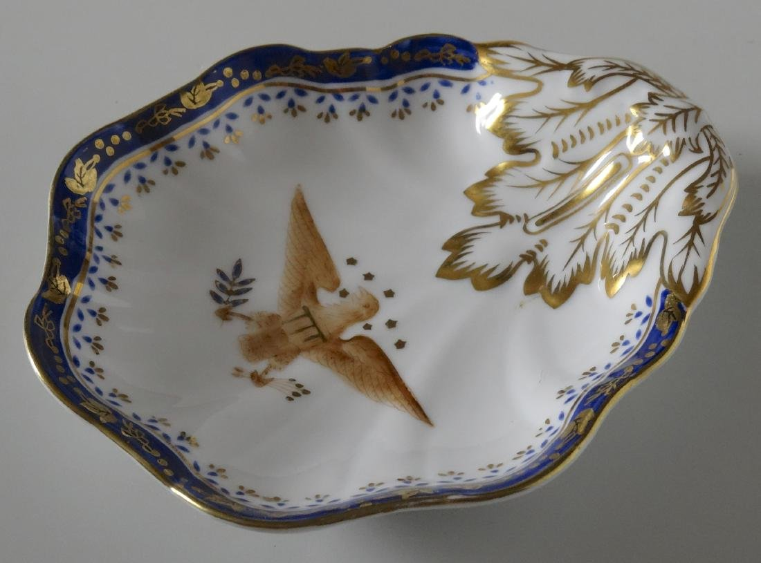 Chinese Export American Eagle Hand Painted Porcelain - 2