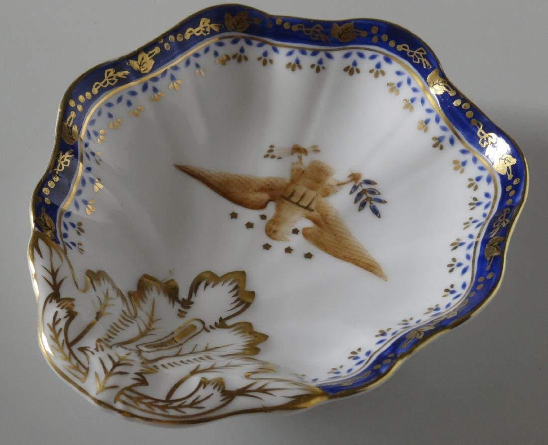 Chinese Export American Eagle Hand Painted Porcelain - 3