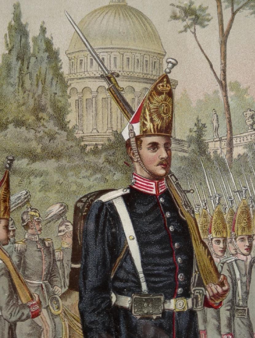 Antique Russian Emperor Alexander Military Uniform