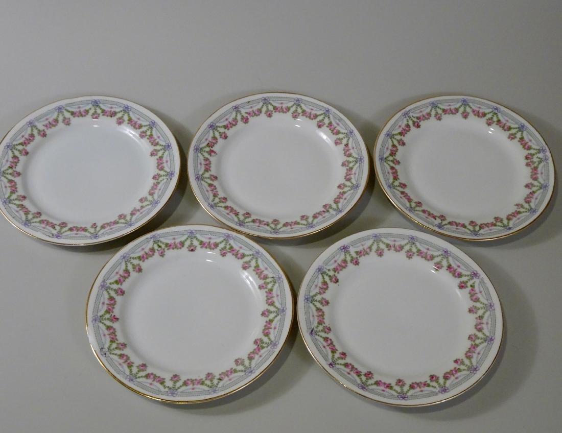 Lot of 5 Austrian Vintage Porcelain Plates