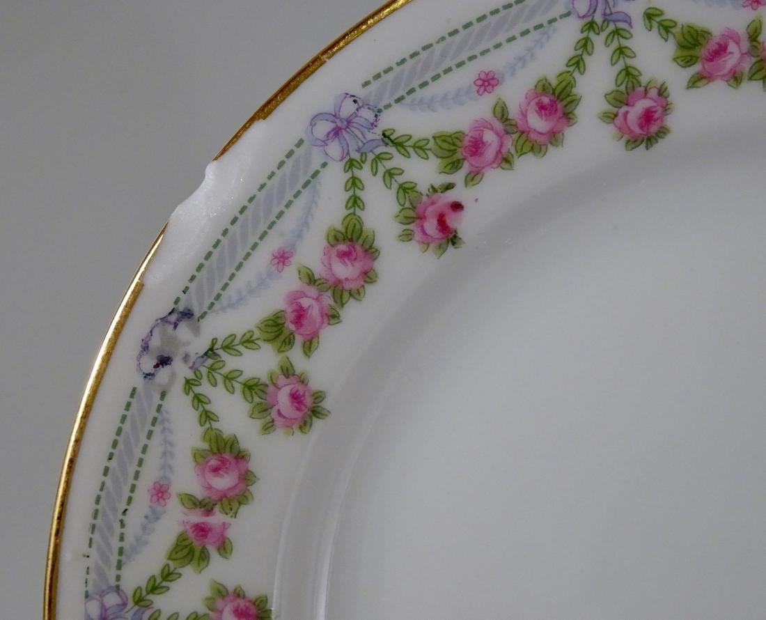 Lot of 5 Austrian Vintage Porcelain Plates - 2