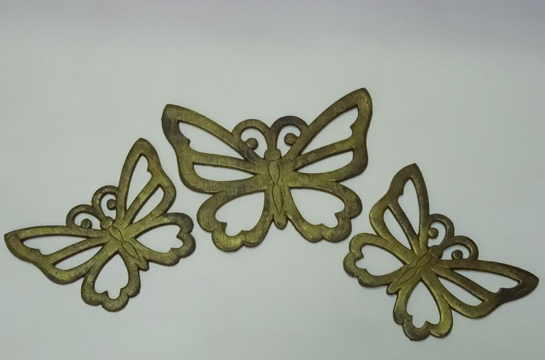 Vintage Mid Century Butterfly Wall Plaque Wall Hanging