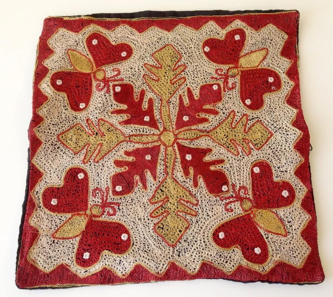 Vintage Ethnic Moroccan Butterfly Pillow Case
