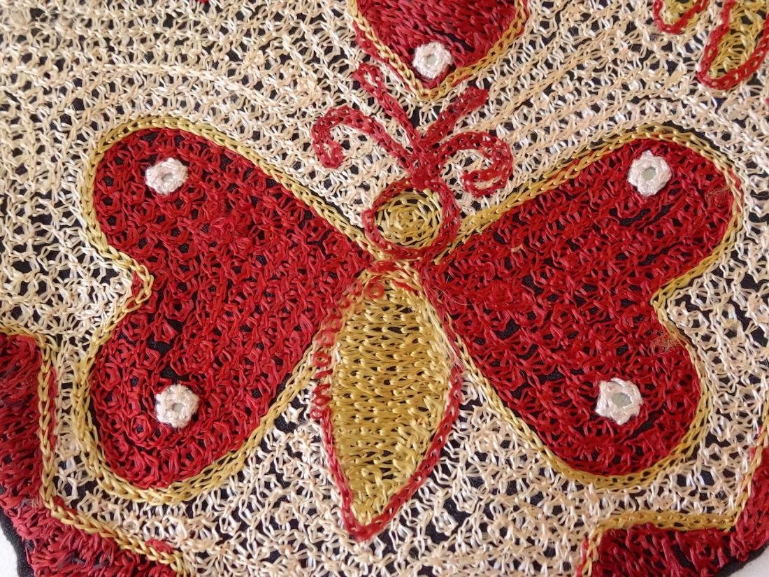 Vintage Ethnic Moroccan Butterfly Pillow Case - 4