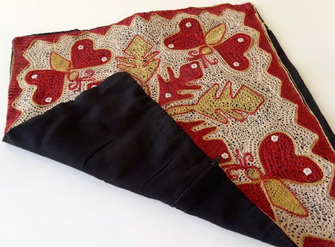 Vintage Ethnic Moroccan Butterfly Pillow Case - 5