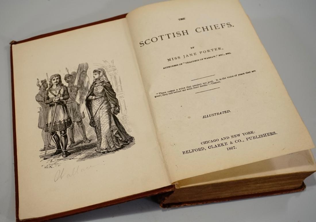 Scottish Chiefs by Miss Jane Porter 1887 Belford Clarke - 2