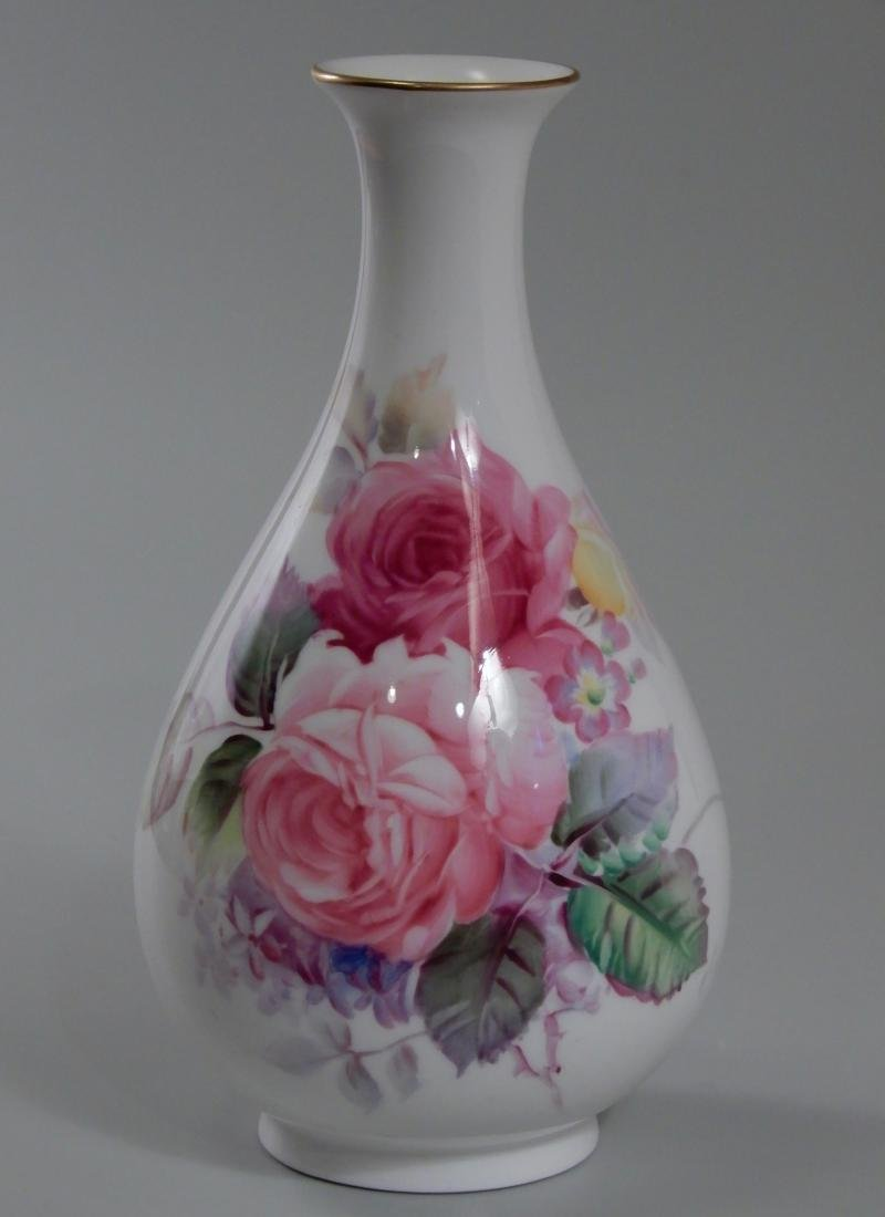 Nippon Noritake Artist Signed Finely Painted Roses