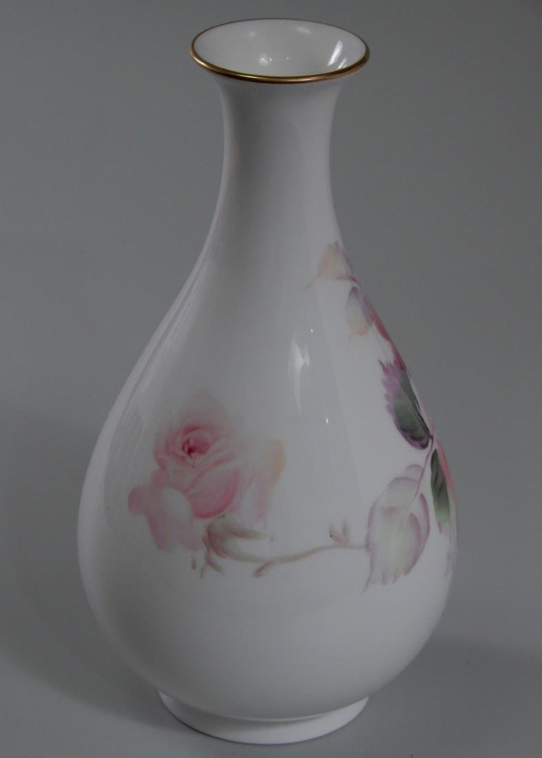 Nippon Noritake Artist Signed Finely Painted Roses - 3