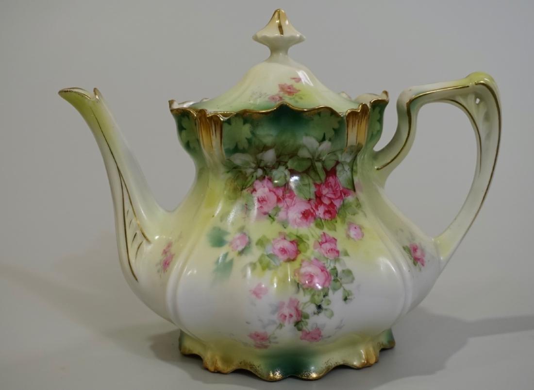 Antique RS Prussia Porcelain Teapot
