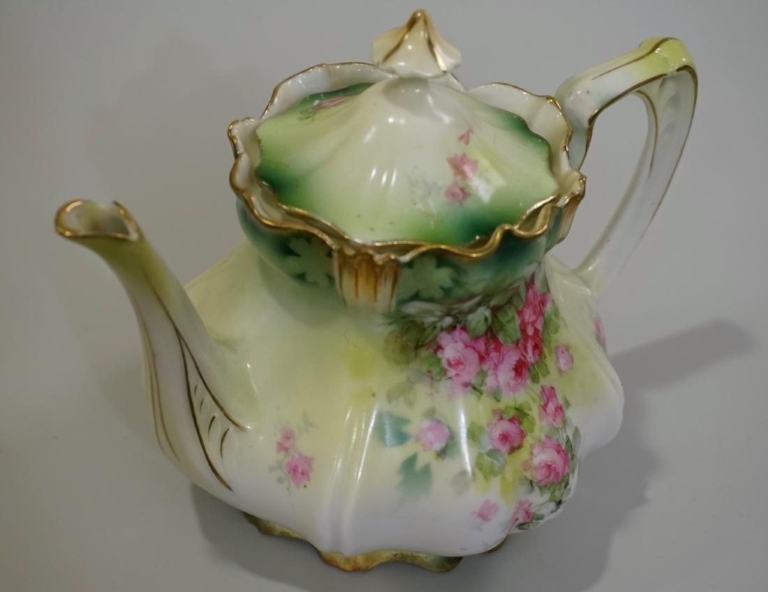 Antique RS Prussia Porcelain Teapot - 2