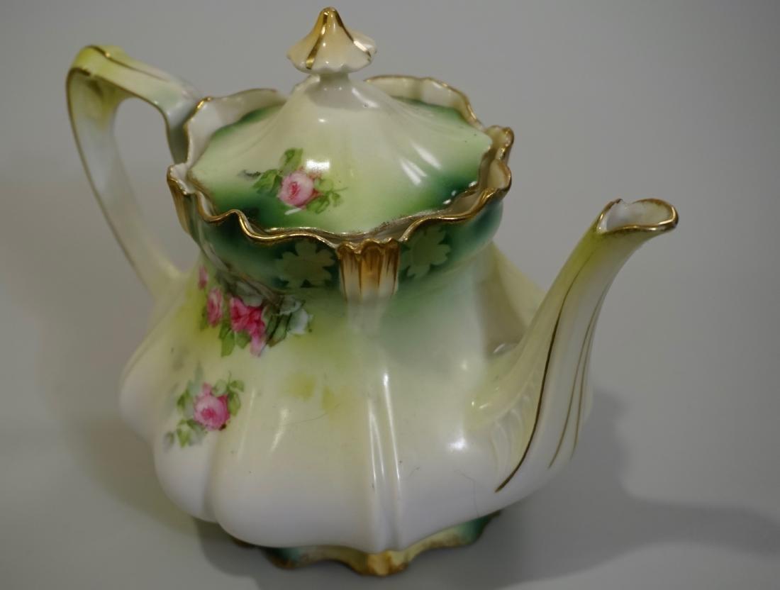 Antique RS Prussia Porcelain Teapot - 3