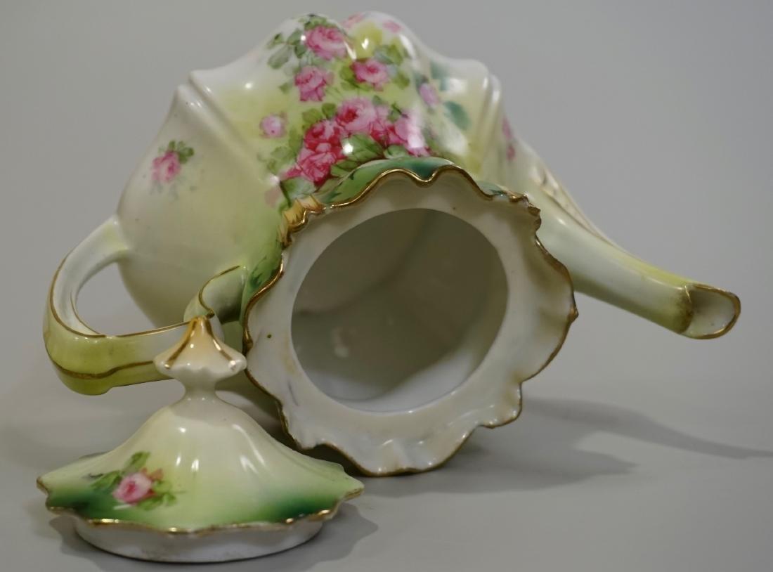 Antique RS Prussia Porcelain Teapot - 5