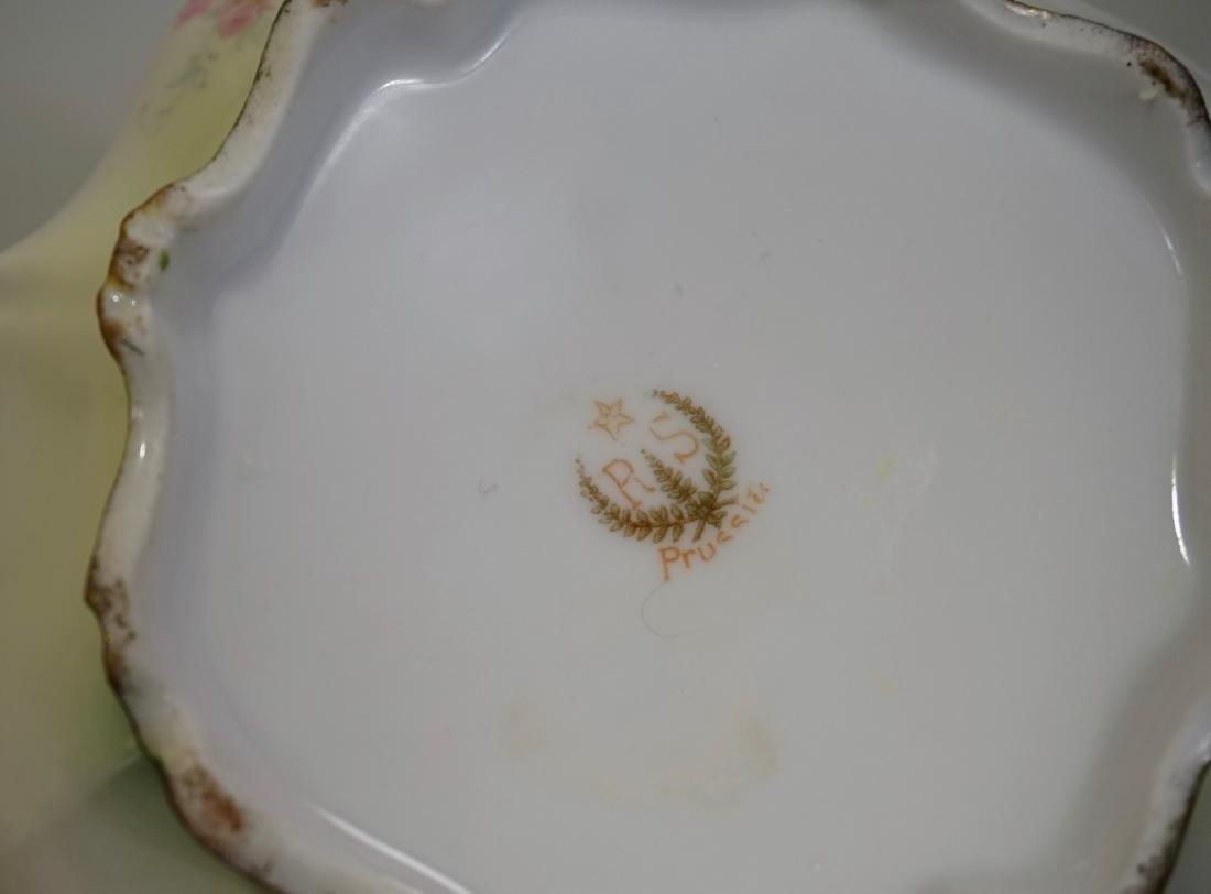 Antique RS Prussia Porcelain Teapot - 7