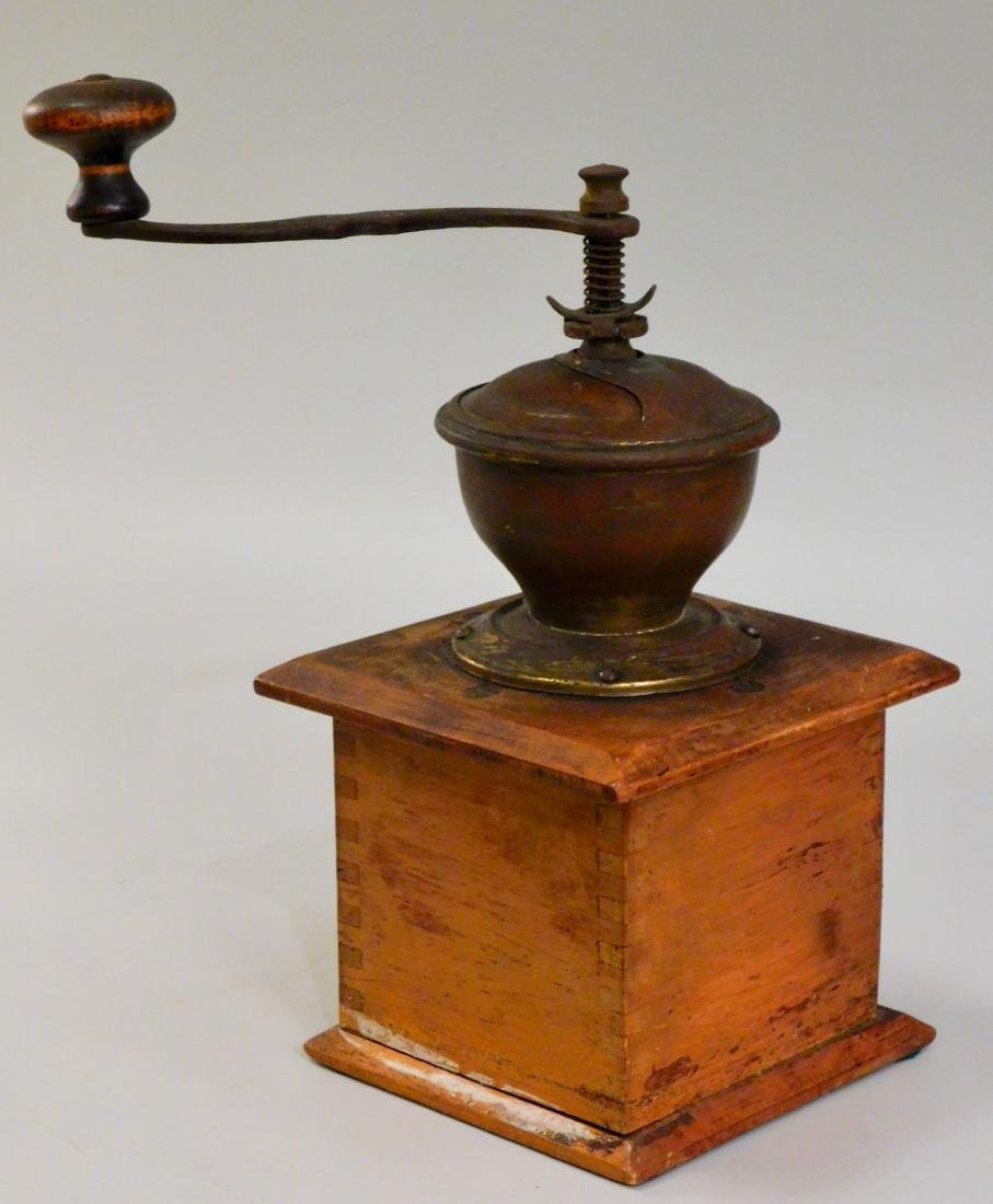 Antique Ideal Coffee Grinder Leinbrock Mill DRGN - 3