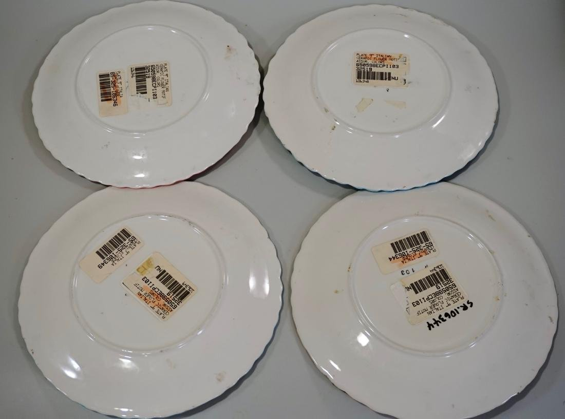 Modern Italian Ceramic Plates Lot of 4 - 3