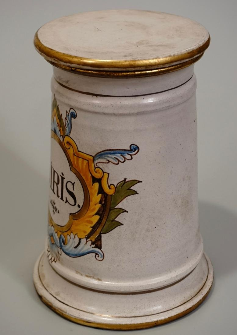 Italian Apothecary Style Canister Medicine Jar - 3