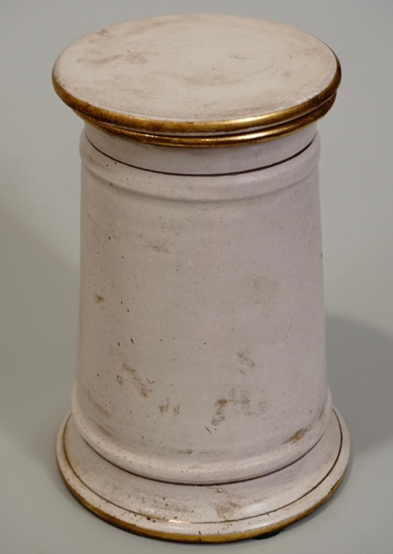 Italian Apothecary Style Canister Medicine Jar - 4