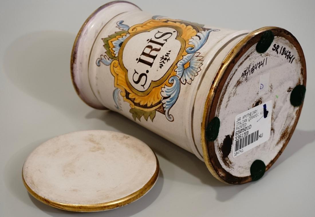 Italian Apothecary Style Canister Medicine Jar - 6