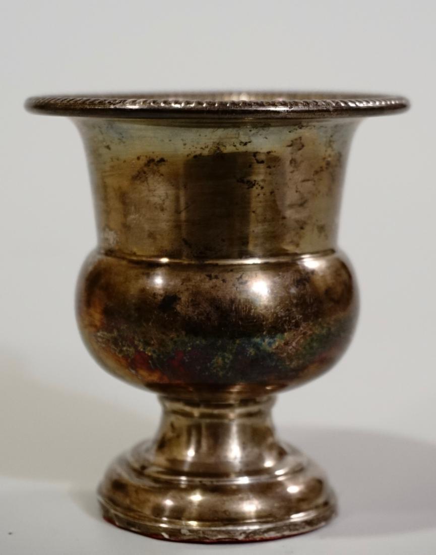 Vintage Sterling Silver Vase Urn