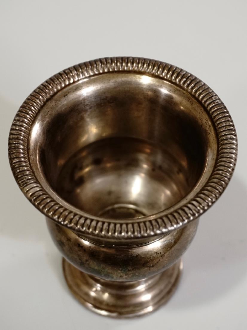 Vintage Sterling Silver Vase Urn - 3