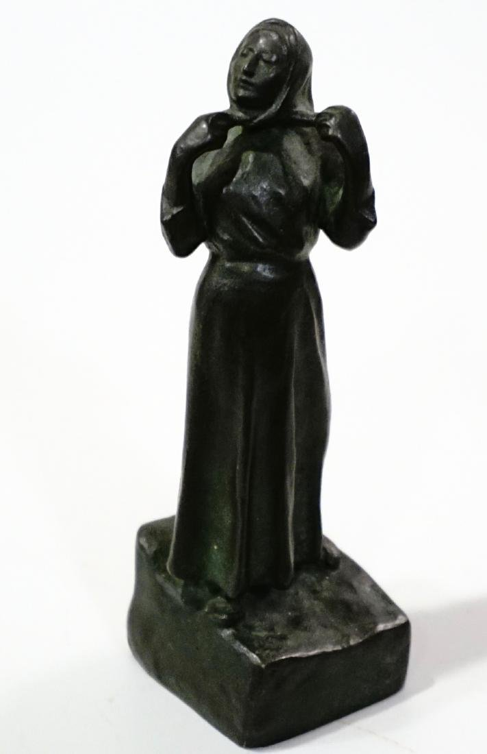 Otto Meyer Foundry Miniature Bronze Sweden Circa 1927
