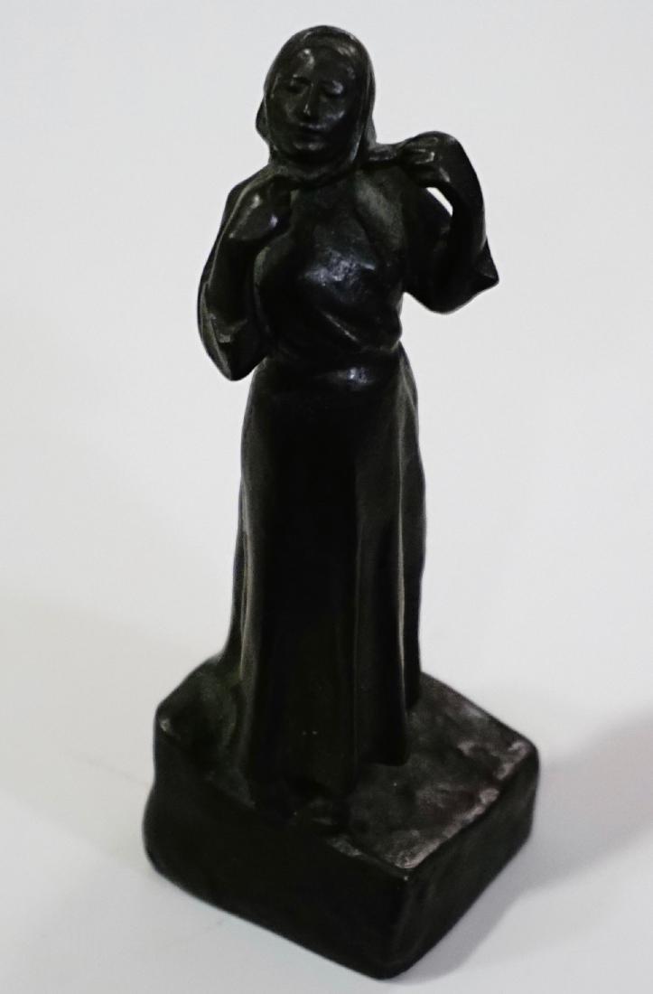 Otto Meyer Foundry Miniature Bronze Sweden Circa 1927 - 3