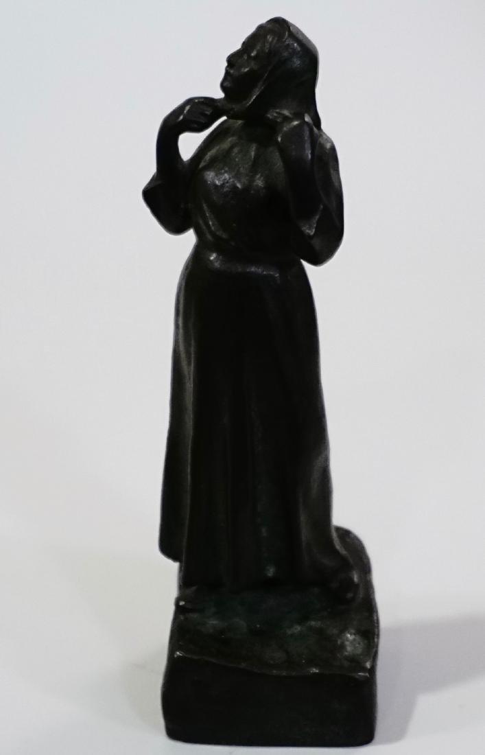 Otto Meyer Foundry Miniature Bronze Sweden Circa 1927 - 4