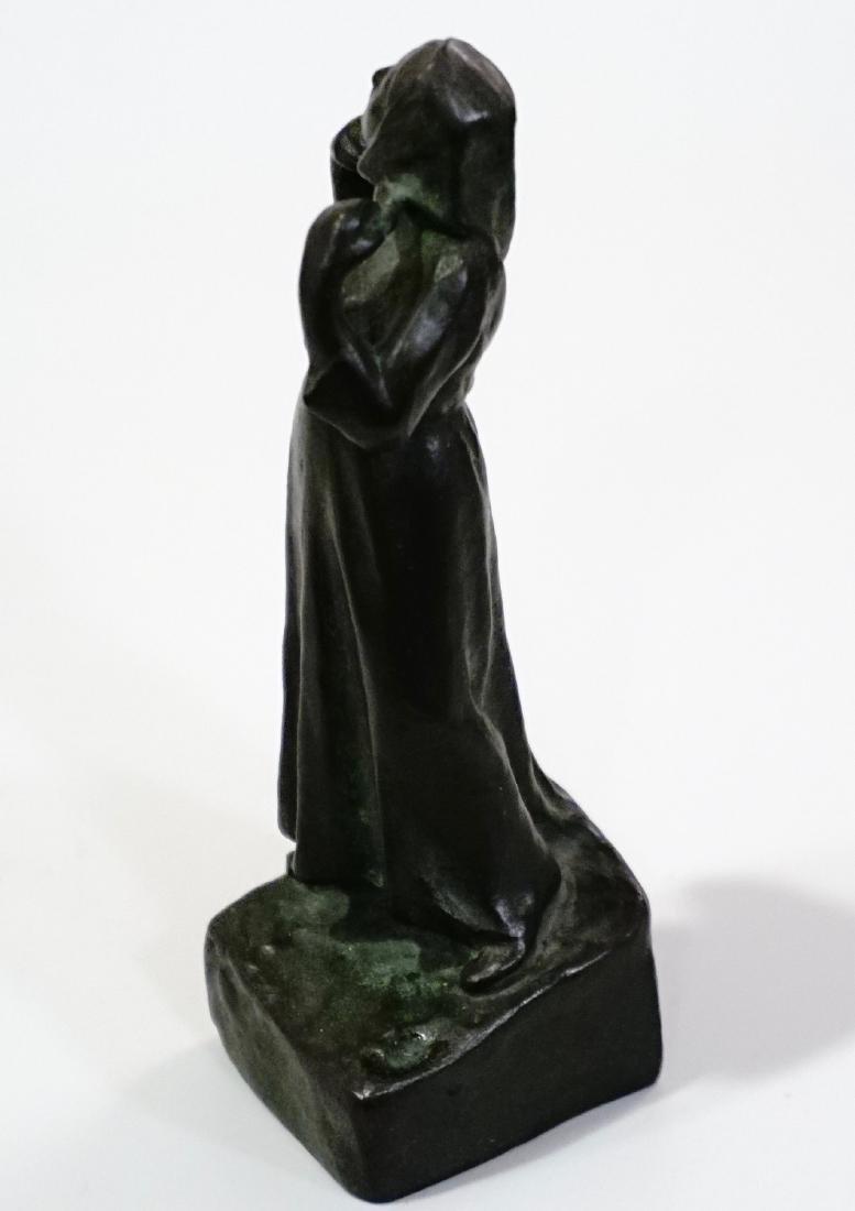 Otto Meyer Foundry Miniature Bronze Sweden Circa 1927 - 5