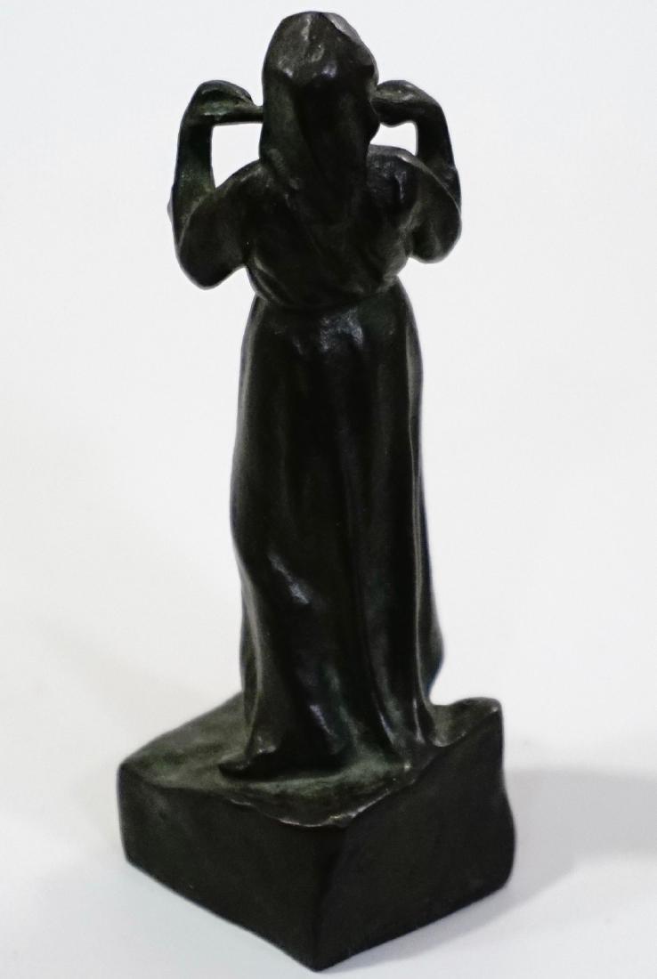 Otto Meyer Foundry Miniature Bronze Sweden Circa 1927 - 6