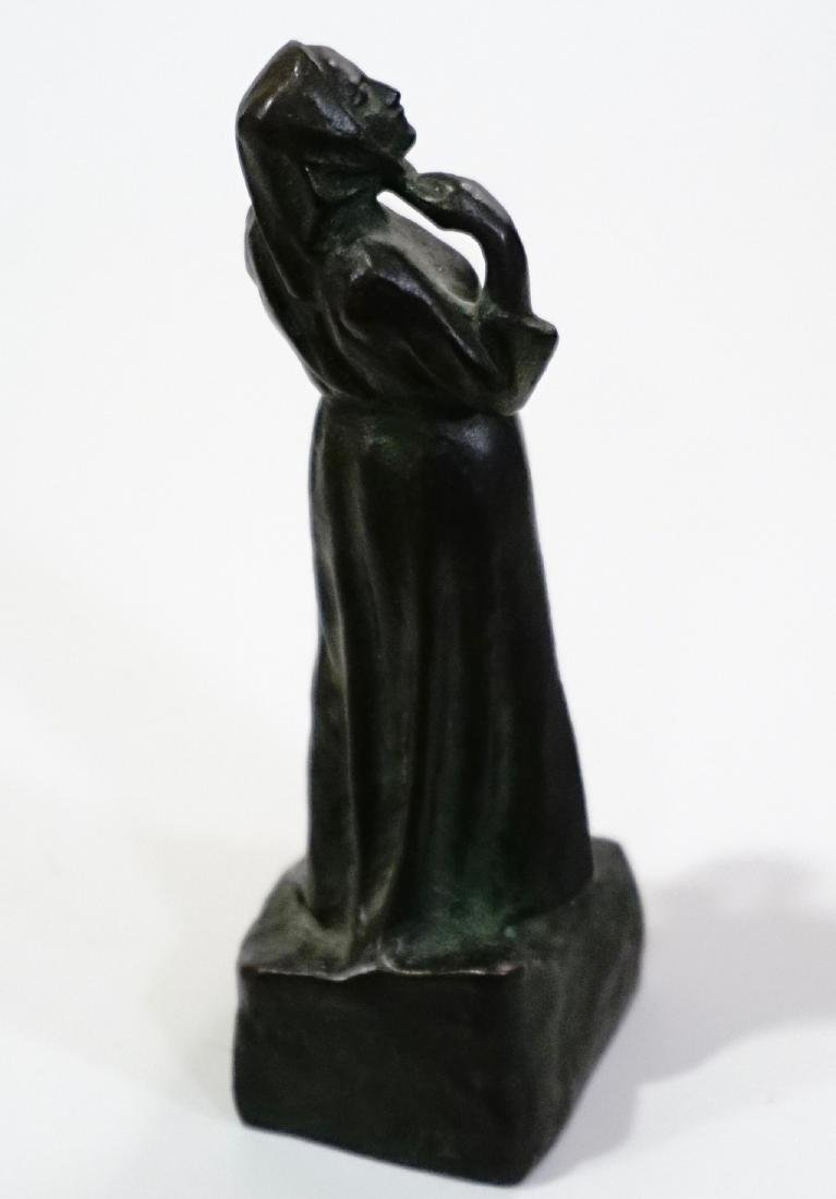 Otto Meyer Foundry Miniature Bronze Sweden Circa 1927 - 7