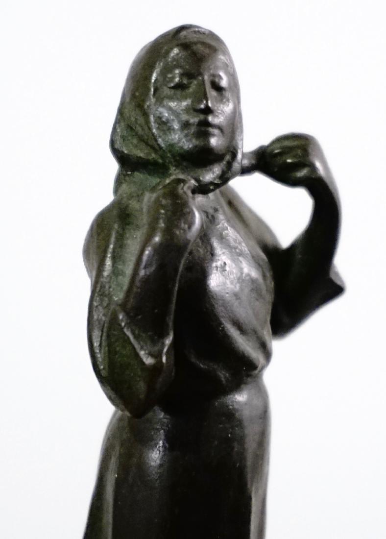 Otto Meyer Foundry Miniature Bronze Sweden Circa 1927 - 9