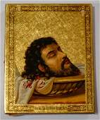 Head of St. John the Baptist Russian Orthodox Icon