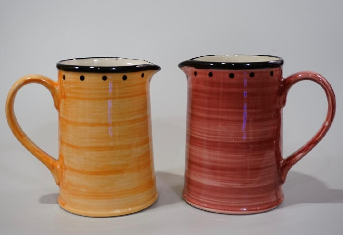 Ulster Ceramics Pitcher Lot of 2 English Ceramics Jugs